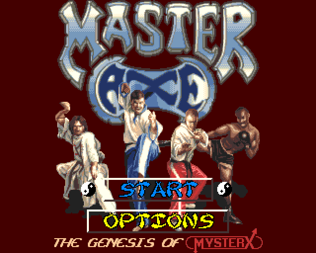 [AMIGA] 마스터 액스 (Master Axe: The Ge..