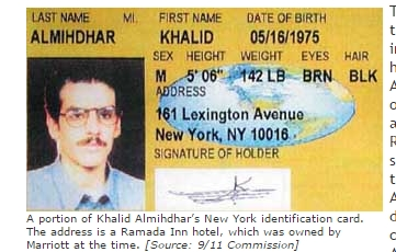 911테러 이전 CIA가 파악했던 정보는?
