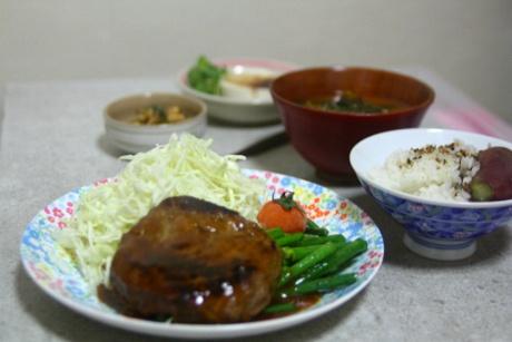 함박정식 , 외식 기분나는 주말 혼밥