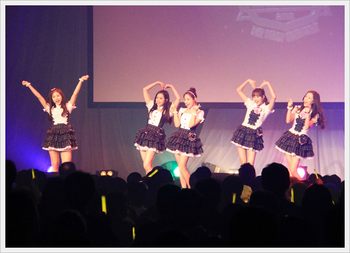 [에이프릴]KARA의 '자매' 그룹이 일본에서의 첫 ..