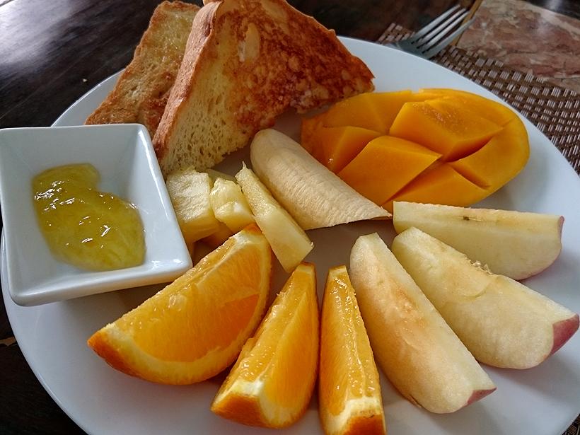 포르테피노 리조트에서 먹은 음식들