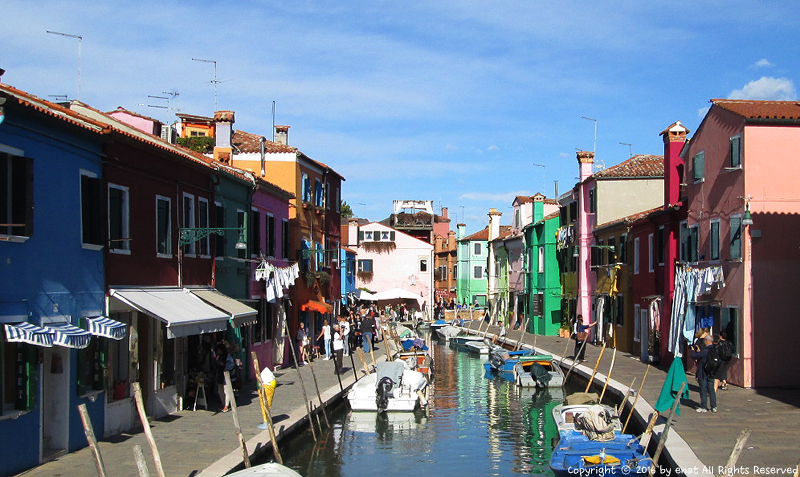 베네치아 (6) 다시 찾은 부라노 섬