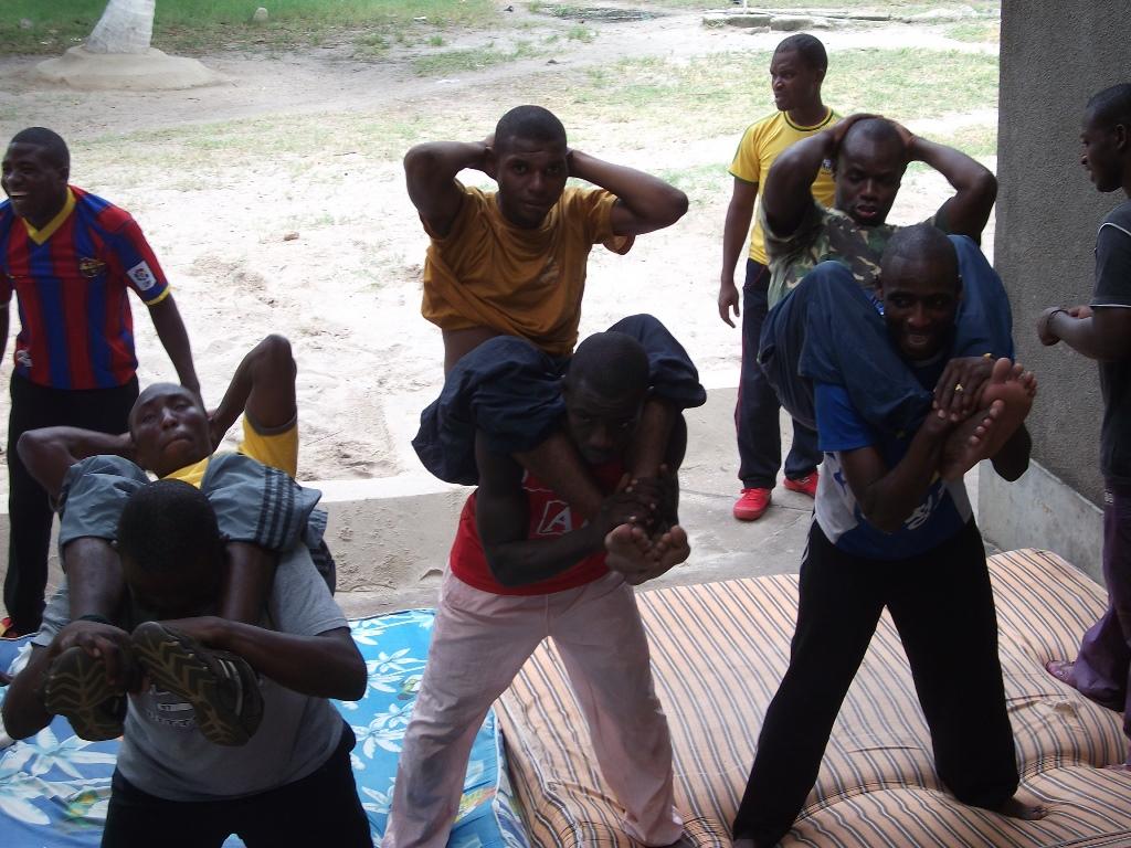 [탄자니아] 체력단련 현장