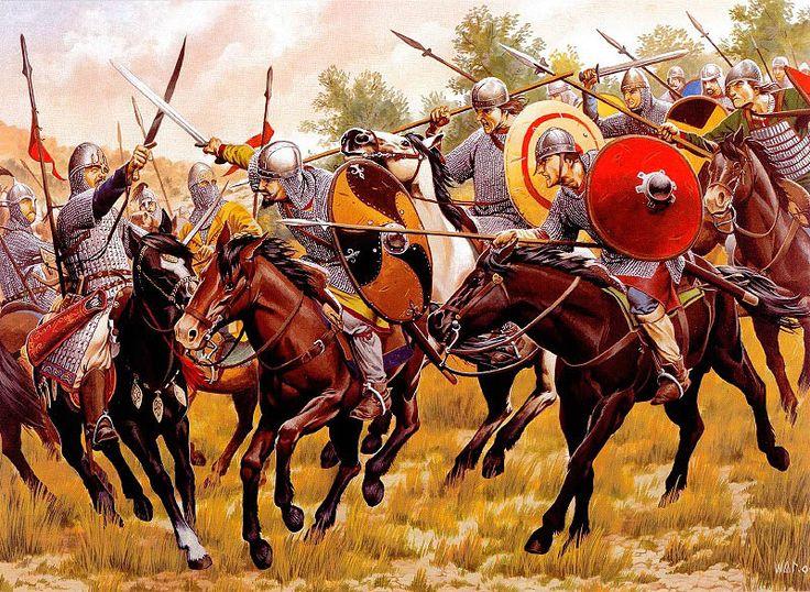 중세 초의 군대
