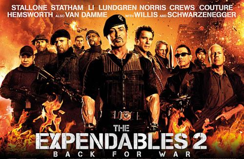 익스펜더블 2: 남자의 땀냄새 나는 영화