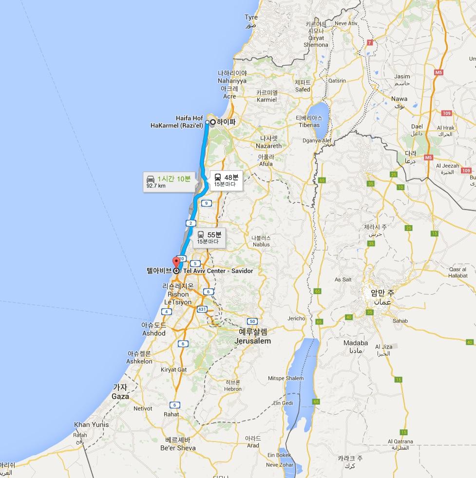 이스라엘 한달 출장기 III - 하이파, 카이사레아