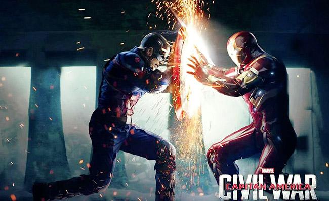 캡틴 아메리카: 시빌 워 (2016)