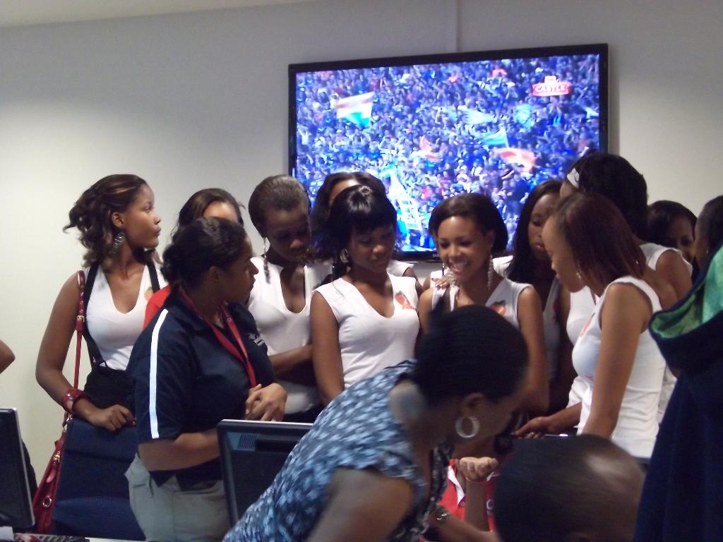 [탄자니아] 미스 탄자니아 후보 언니들