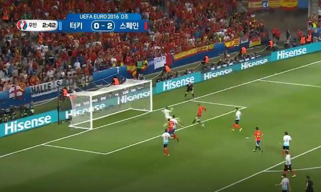 [유로 2016] 스페인 3:0 터키