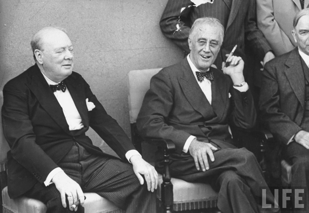 처칠에 대한 루스벨트의 의심은? ㅠ