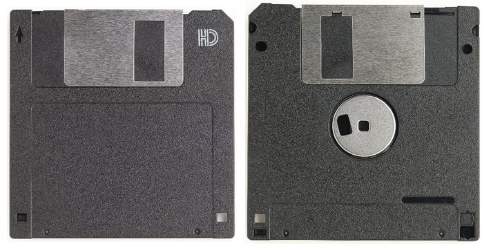 [MSX] 3.5인치 2HD 플로피 디스크를 2DD 플로피..