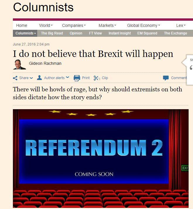[브렉시트] 국민투표 결과가 번복된 사례들은?