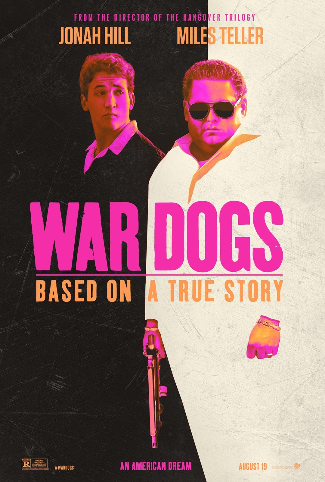 """조나 힐과 마일즈 텔러의 신작, """"War Dogs"""" 입니다."""