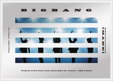 BIGBANG, 도쿄돔 라이브 DVD 종합 선두 통산 4번째