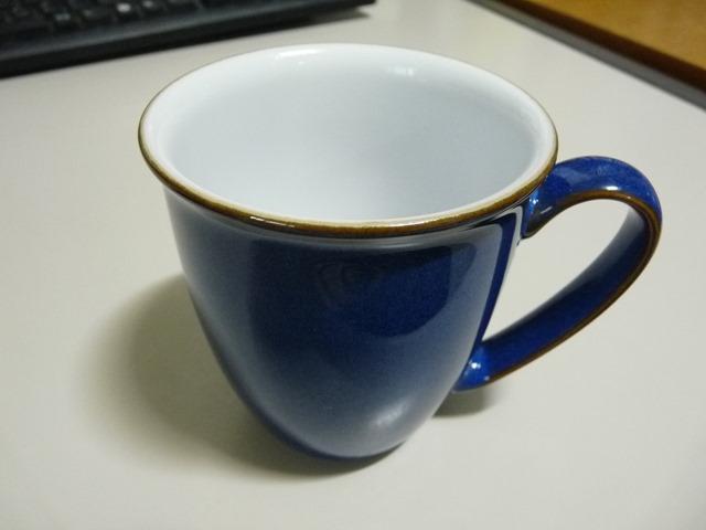 덴비 커피비커 임페리얼 블루 머그컵