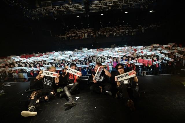일본의 록밴드 SPYAIR, 2016년 12월 4일, 서울에서..
