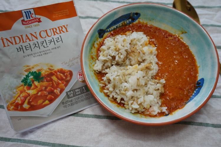 코스트코 버터치킨커리 맥코믹 인디안커리 McCormick INDIAN CURRY Butter Chicken Curry