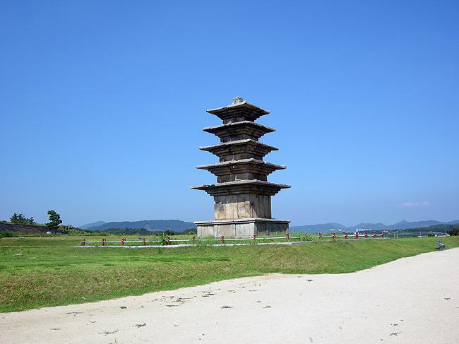익산 왕궁리 오층석탑