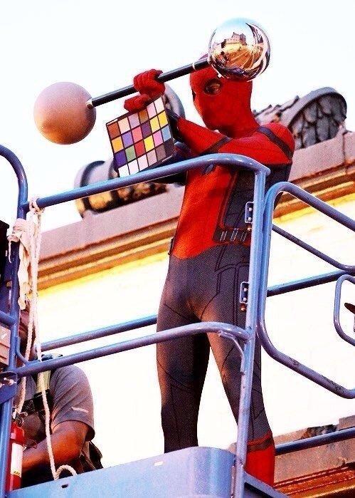 """""""스파이더맨 : 홈커밍"""" 촬영장 사진입니다."""