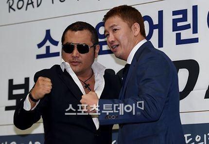 """Road FC, """"김보성 상대 미정, 윤형빈 내년 초 복귀"""""""