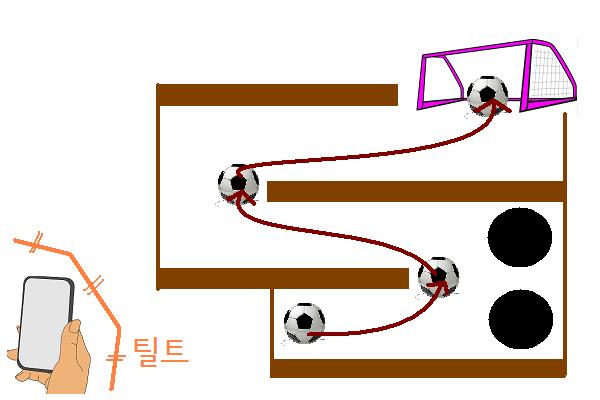 안드로이드 액션 게임 Maze Ball 비추천 이유