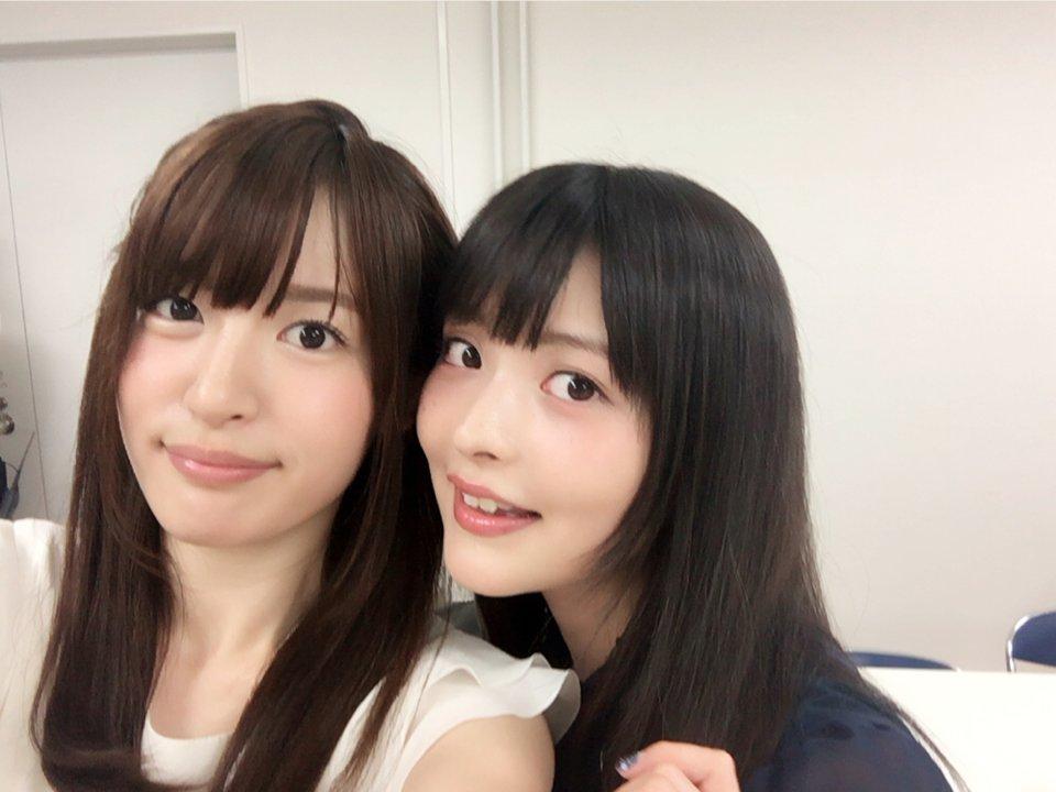 성우 코마츠 미카코 & 우에사카 스미레의 사진, 도..