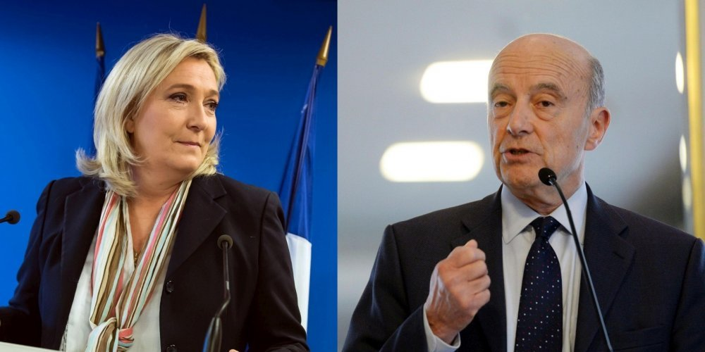 2017년 프랑스 대선:알랭 쥐페와 마린 르펜의 대결!
