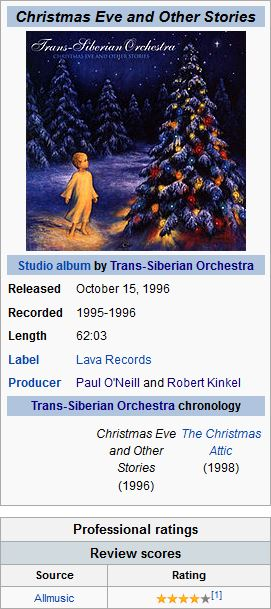 TRANS SIBERIAN ORCHESTRA - 11. THE FIRST..
