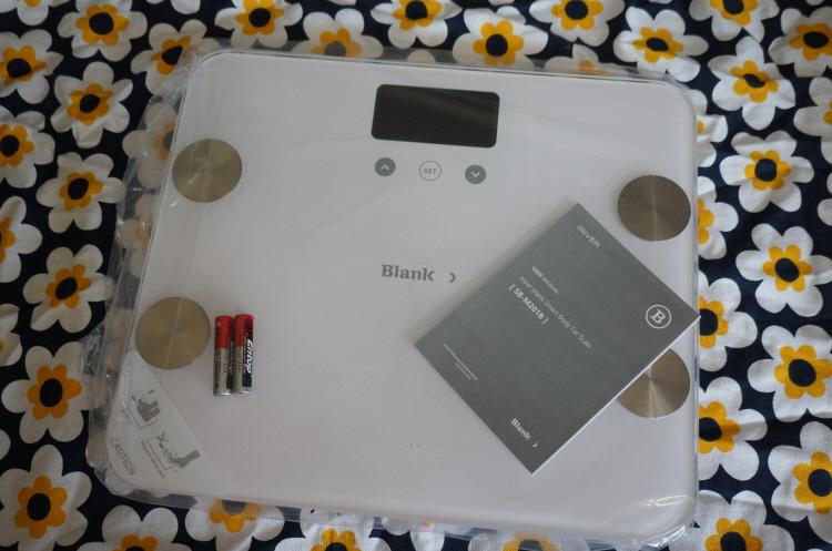 인바디 체중계 Blank 스마트 체중계