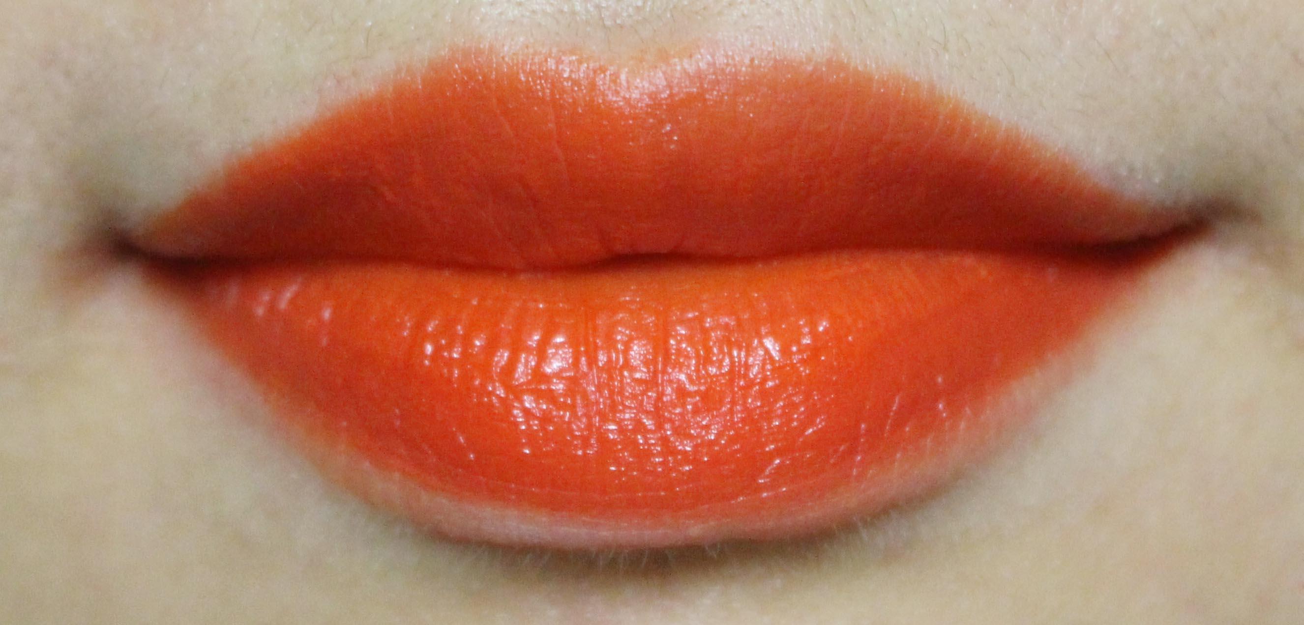 오렌지 립에 대한 고찰. 내가 립 발색만 올리는 이유.