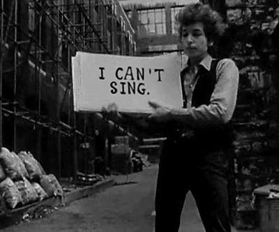 난 노래 못 불러.