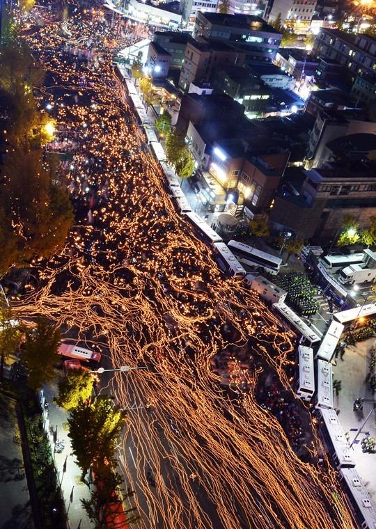 광화문 100만 촛불의 위엄!