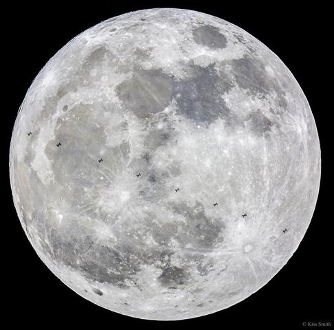 보름달 수퍼문 표면에 N자가?