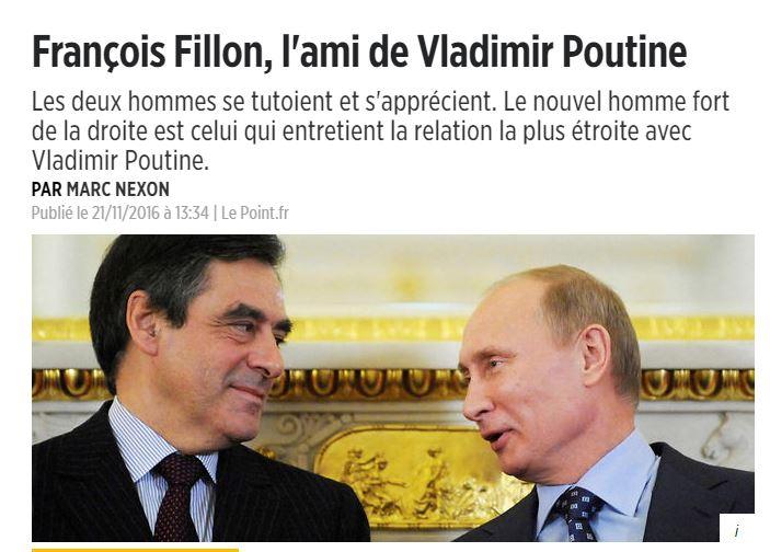 """""""프랑스 대선의 승자는 블라디미르 푸틴인가?"""""""