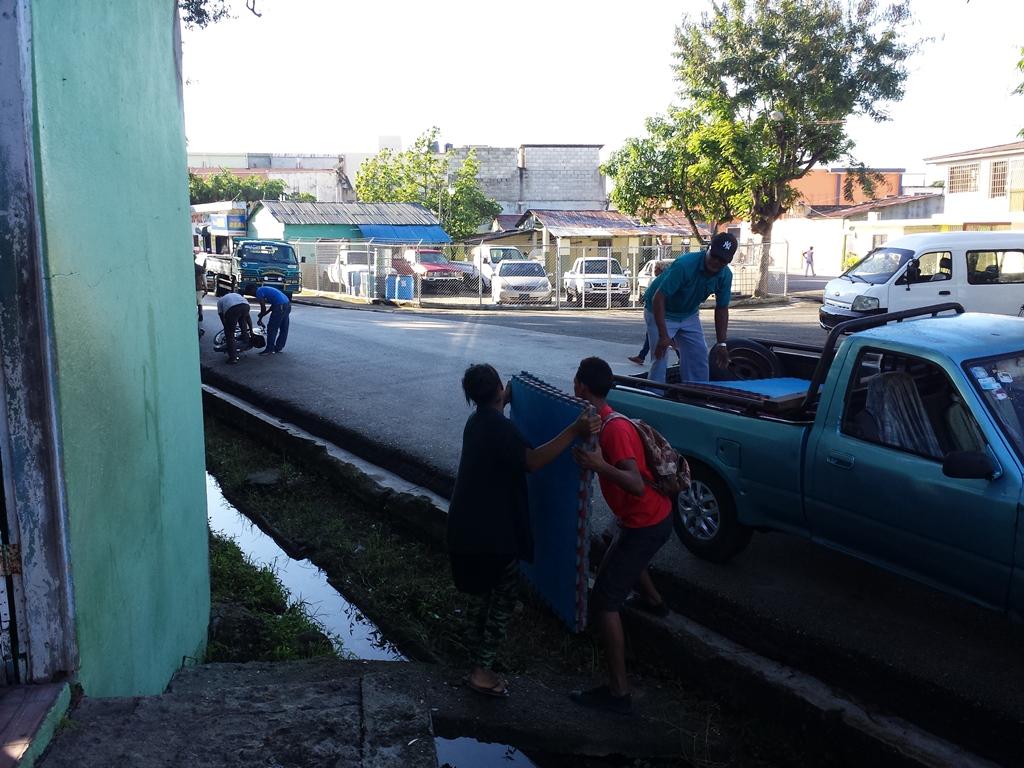 [도미니카공화국] 초등학교 태권도 시범
