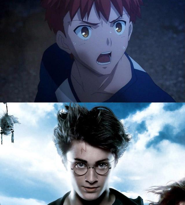 Fate와 해리포터의 닮은 점
