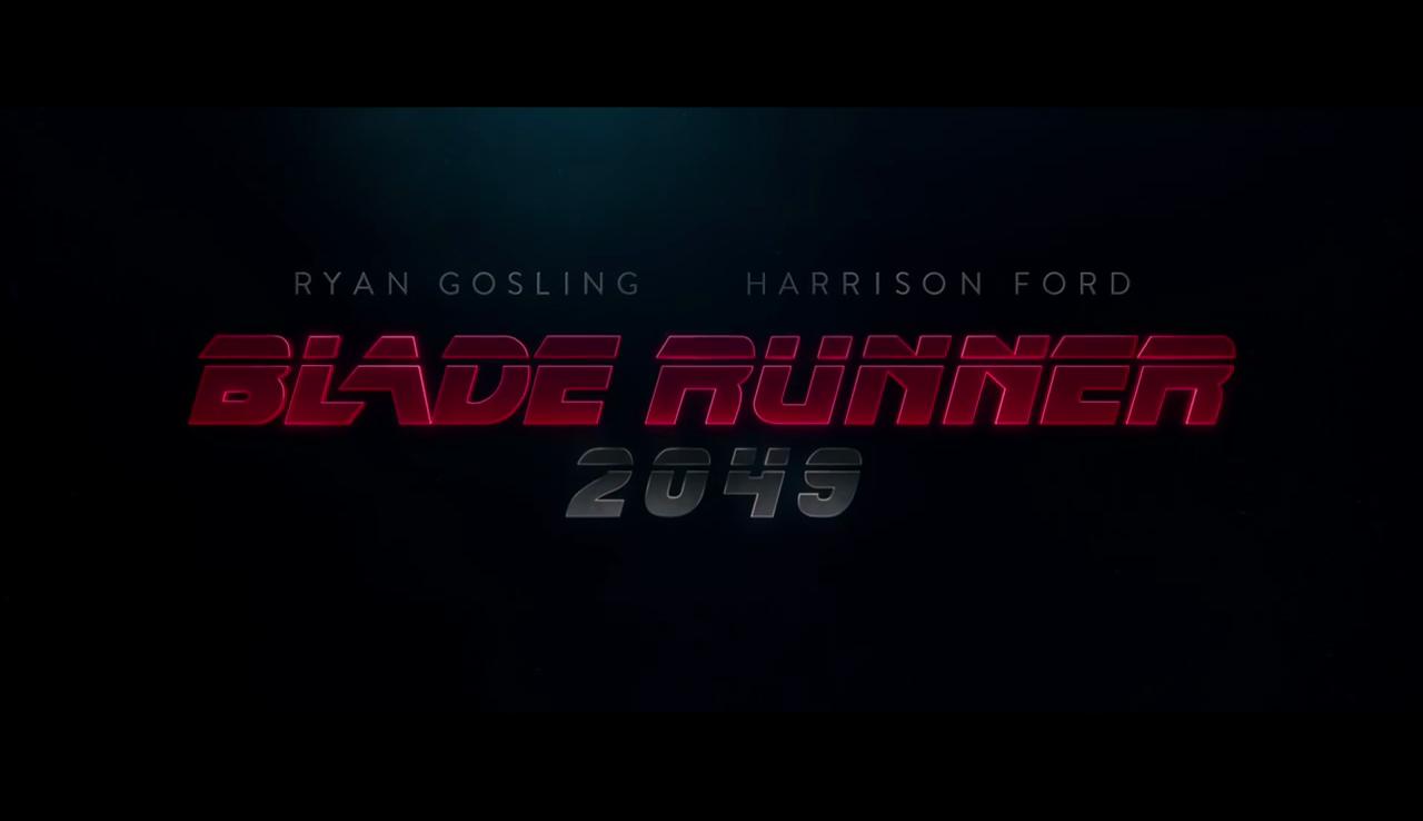 블레이드 러너 2049 티저 영상 공개, 한글이 나온다?