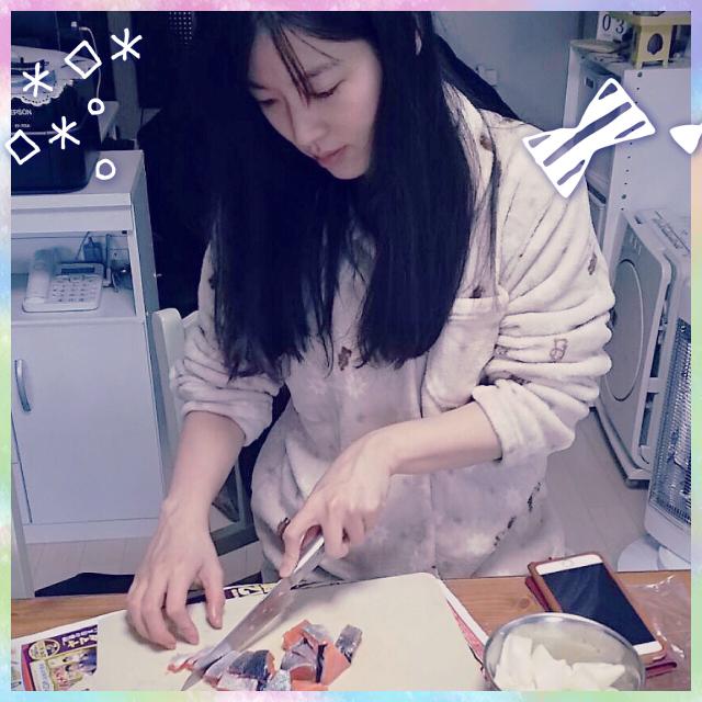 성우 하라 유미씨의 사진, 고향집에서 느긋한 시간을..