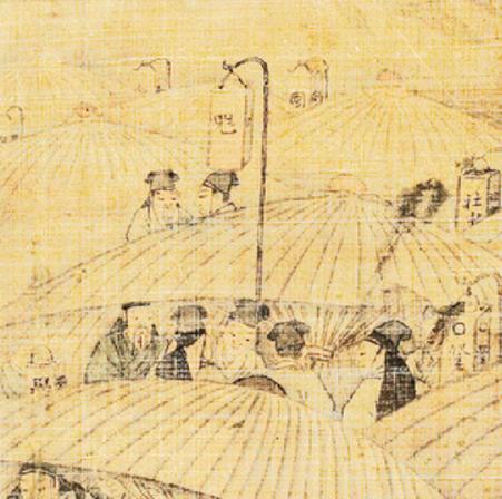18세기말-19세기초 술집입구에 매단 등(燈)의 글..