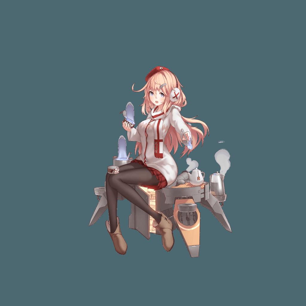 [전함소녀]충격과 공포의 함선 스킨