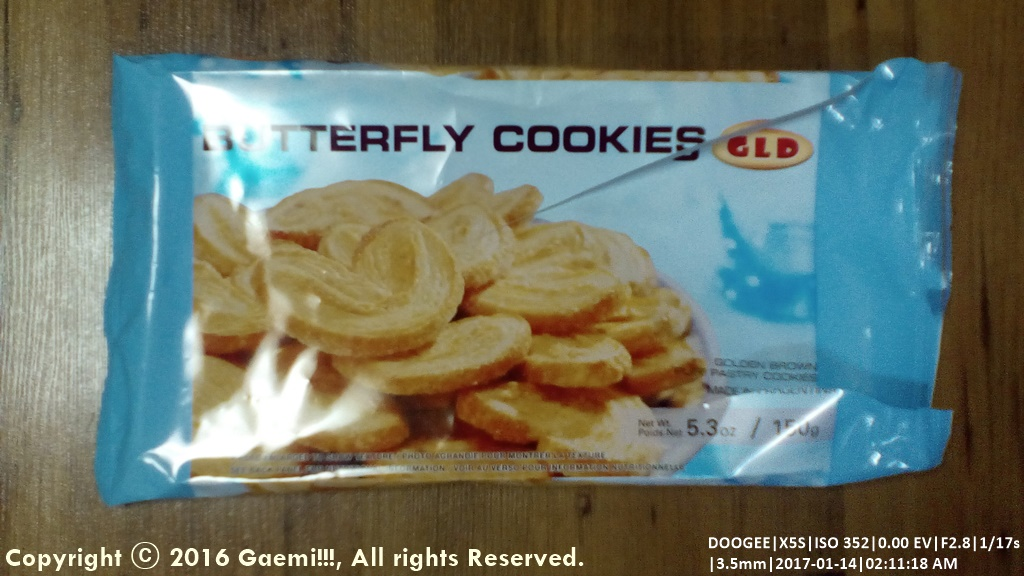 [GLD] Butterfly Cookies