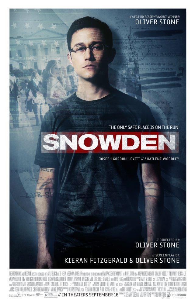 스노든 (Snowden, 2016)