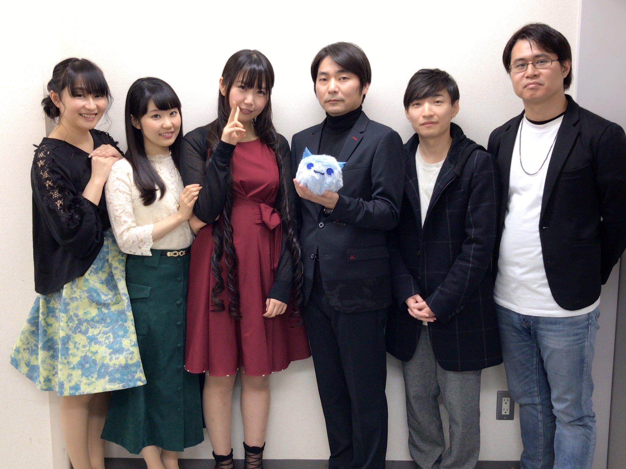성우 토우야마 나오의 오피셜 트위터에 올라온 사진..