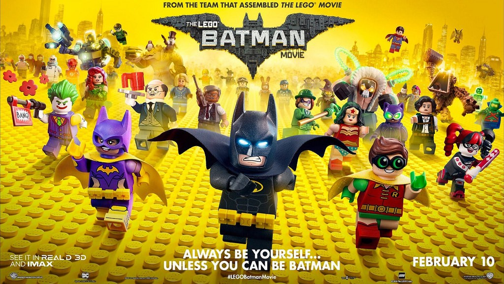The Lego Batman Movie: Iron Man sucks.