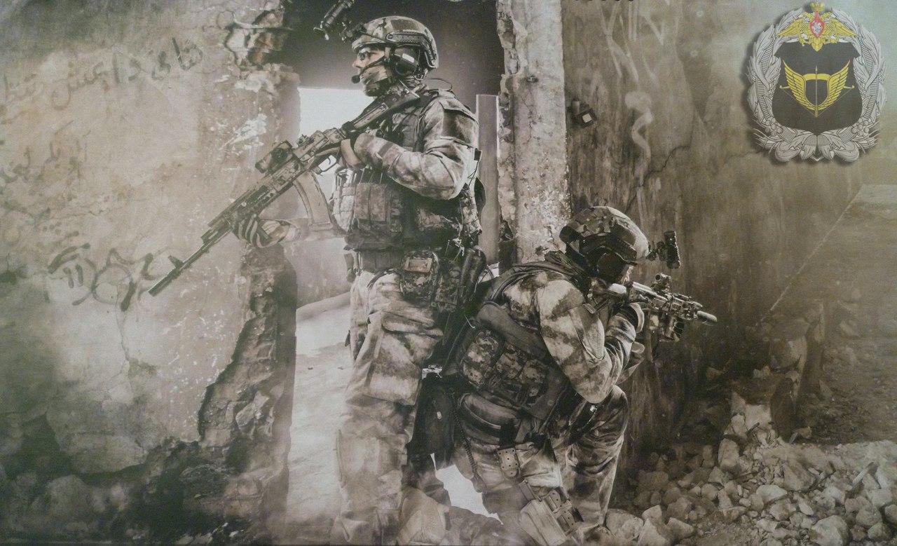 러시아 특작군(SSO)의 모습