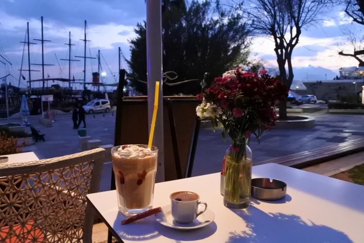 [터키여행] 안탈리아 카페 mira coffee 터키쉬커피
