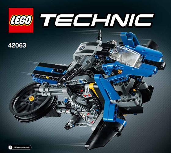 레고 - 테크닉 42063-2 BMW 호버 라이드