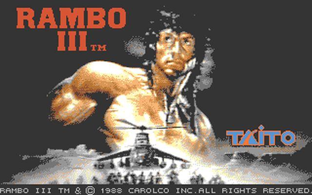 [DOS] 람보 3 (Rambo III.1989)