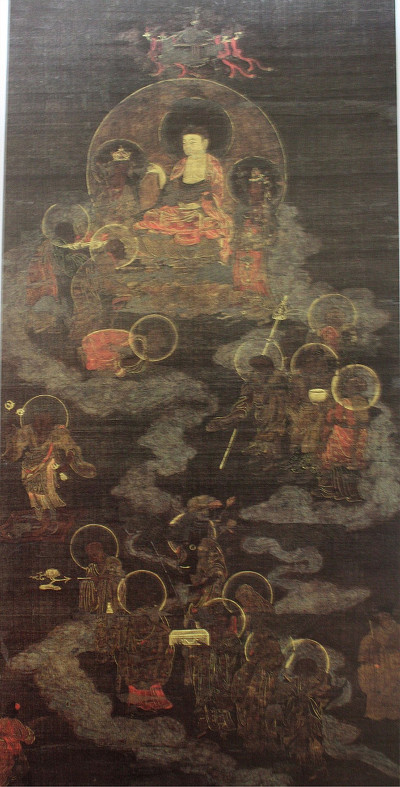 14세기 고려불화와 현존하는 연꽃모양 향로 비교
