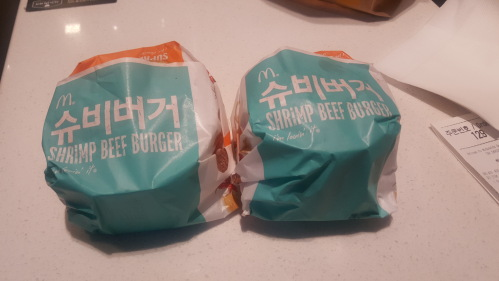 맥도날드 슈비버거 1+1